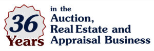 36 Years in the Auction, Real Estate and Appraisal Business
